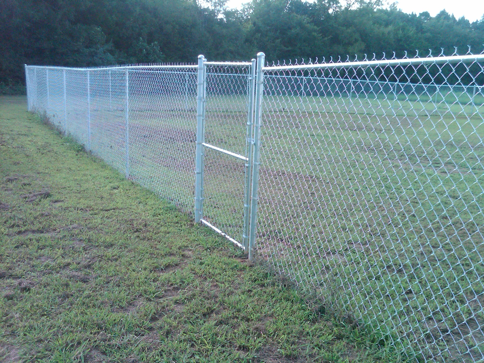 Atlanta chain link fence installation fenceworks